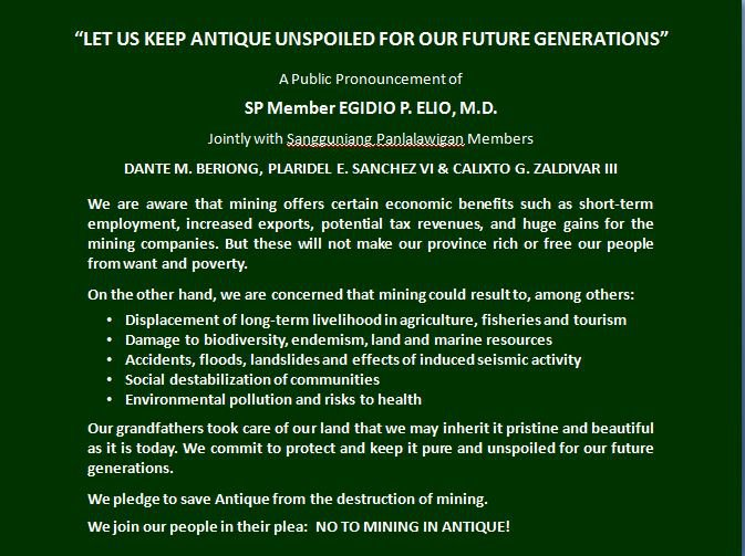 LET US KEEP ANTIQUE UNSPOILED FOR OUR FUTURE GENERATIONS